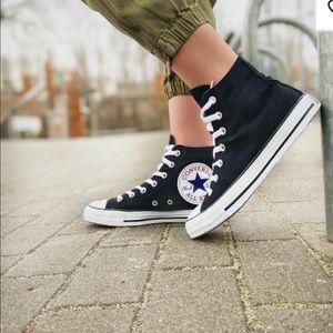 Converse Ctas HI Big Logo Black Men's Sneakers